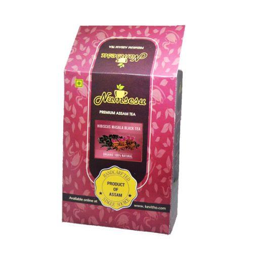 Hibiscus Masala Black Tea